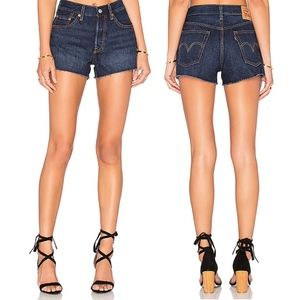 Levi's 501 Straight Leg Button Fly Jean Shorts
